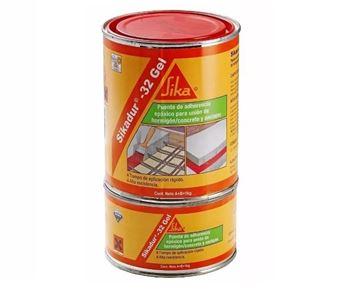 Imagen de Adhesivo p/unir hormigón SIKADUR-32 GEL (A+B) 5kg Sika - Ynter Industrial