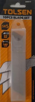 Imagen de Hojas De Trincheta Tolsen X10 25mm - Ynter Industrial