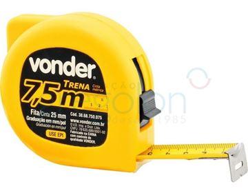 Imagen de Cinta Métrica Vonder 7,5m - Ynter Industrial