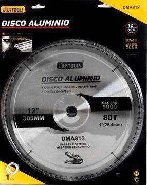 Imagen de Disco Corte Aluminio 12pLG 80t Dma812 - Ynter Industrial