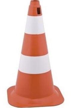 Imagen de Cono de señalizacion 50cm naranja poliet Lavoro - Ynter Industrial