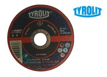 Imagen de Disco corte metal 4 1/2pulgx1mm tyrolit