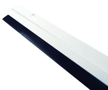 Imagen de Zócalo de puerta aluminio c/goma 90 cm