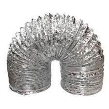Imagen de Manguera Corrugada Para Extractor De Aire Aluminio 150MM