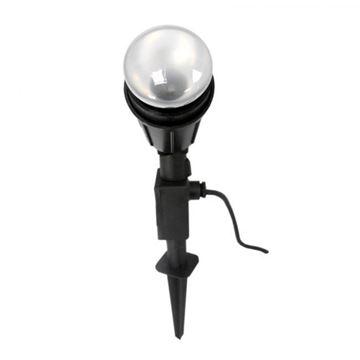 Imagen de Pincho luz led jardin pvc negro no incluye lampara