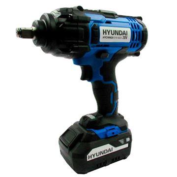 Imagen de Llave de impacto Hyundai bateria 20v sin bat - Ynter Industrial