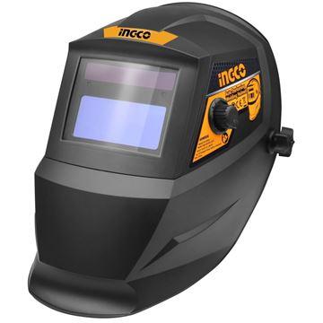 Imagen de Careta soldar negra c/regulación automatica fotosensible Ingco-Ynter Industrial
