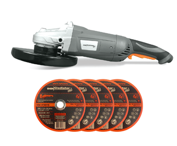 Imagen de Amoladora Angular  7pLG Gladiator 2300w 5 discos -Ynter Industrial