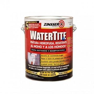 Imagen de Rust Oleum zinsser water tite blanco mate- Ynter Industrial