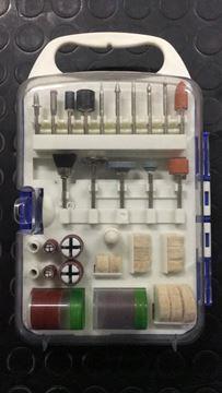 Imagen de Juego de accs mini torno KRAIN 71 PIEZAS con maletin - Ynter Industrial