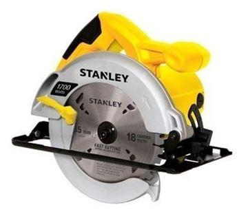 "Imagen de Sierra Circular Stanley 7 1/4"" 1700w c/guía BOLSO STANLEY -Ynter Industrial"
