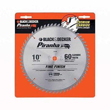 "Imagen de Sierra circular 10""x 60 d Black & Decker corte fino p/STST1825  - Ynter Industrial"
