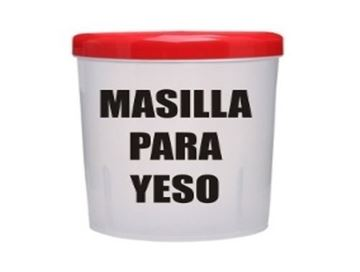 Imagen de Masilla para yeso 7 kg  ARCAL 1°calidad- Ynter Industrial