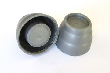 Imagen de Soporte plástico gris para cortina de baño nac x par- Ynter Industrial