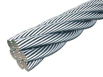 Imagen de Cable de acero galvanizado flexible 8mm x metro  - Ynter Industrial