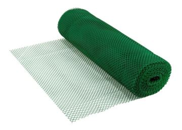 Imagen de Tejido Malla Pvc 1.x 100mts Verde/Blanca/ Negro - Ynter Industrial