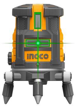 Imagen de Nivel Laser autonivelante industrial Ingco verde- Ynter Industrial
