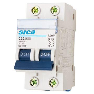 Imagen de Llave térmica bipolar SICA 10 A 40 AMPS- Ynter Industrial