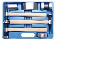 Imagen de Juego de martillos y aguantadores de chapista- Ynter Industrial