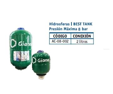 Imagen de Hidrosfera Best Tank Gianni 2litros- Ynter Industhrial