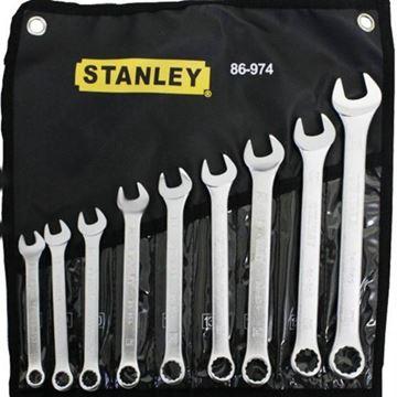 Imagen de Juego llaves combinadas Stanley basic 8-17mm 9pcs- Ynter