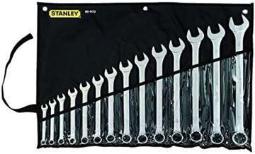 """Imagen de Juego llaves combinadas Stanley basic 1/4"""" - 1"""" 13pcs- Ynter -"""