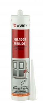 Imagen de Sellador acrilico WURTH gris 280ml pintable -YNTER INDUSTRIAL