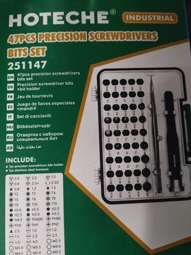 Imagen de Kit 47 piezas Hoteche destornillador de precision