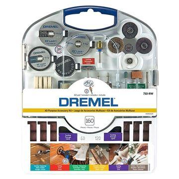 Imagen de Kit multiuso Ez-Lock Dremel 710- Ynter Industrial