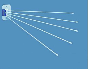 Imagen de Tendedero 5 varillas colgar abanico