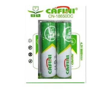 Imagen de Pilas litio recargables Cafini para linternas 4,2v