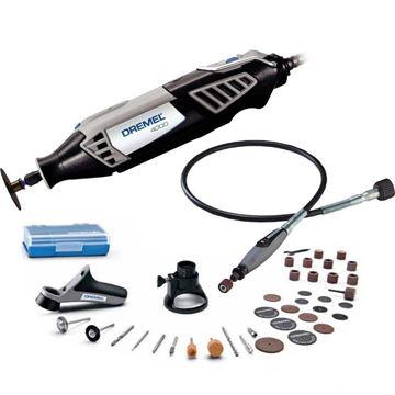 Imagen de Mini Torno Dremel 4000 flexible + 36 acc-Ynter Industrial