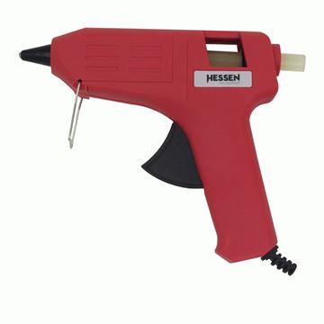 Imagen de Pistola de pegar en kit c/barras de silicona Hessen-Ynter Industrial