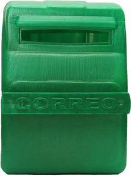 Imagen de Buzon para reja PVC verde-Ynter Industrial