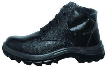 Imagen de Zapato Botín cuero c/punta y plantilla acero negro-Ynter