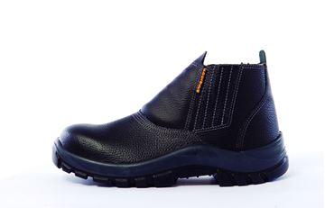 Imagen de Zapato Botín cuero elastizado s/cordón punta acero Worksafe-Ynter