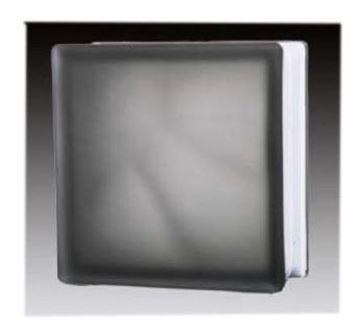 Imagen de Ladrillo de vidrio JH042 gris-Ynter Industrial