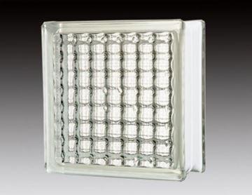 Imagen de Ladrillo de vidrio JH007 cristal paralle-Ynter Industrial