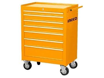 Imagen de Gabinete carro taller metal 7 bandejas  Ingco- Ynter Industrial