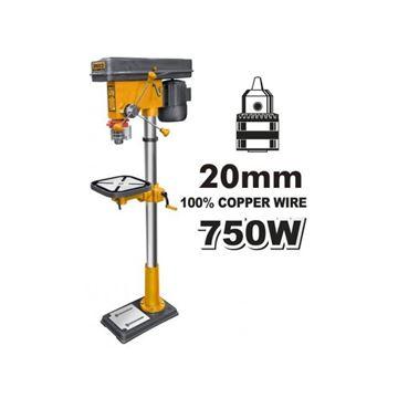 Imagen de Taladro de pie columna/banco 20MM 16V Ingco 750W - Ynter Industrial