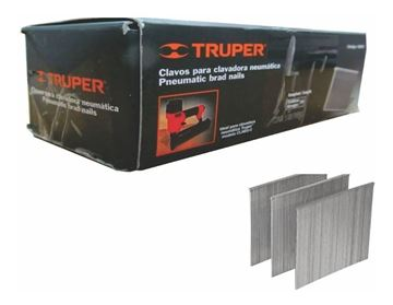Imagen de Clavos X 5000 unidades TRUPER p/neumática 15 MM-Ynter Industrial
