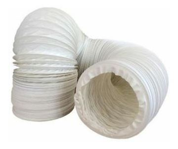 Imagen de Caño corrugado extractor PVC extensible MT-110mm  - Ynter Industrial