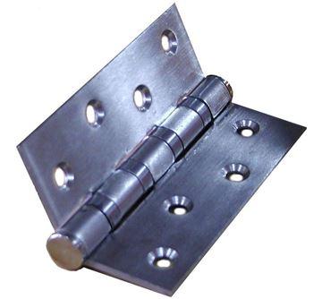 """Imagen de Bisagra acero inoxidable 4x3""""-3mm pack 2 pzas - Ynter Industrial"""