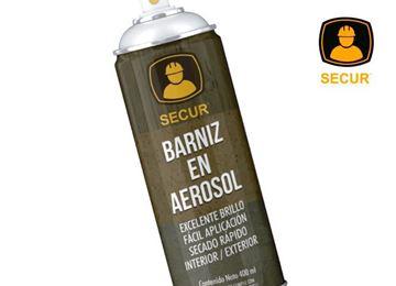 Imagen de Spray pintura barniz SECUR 400 ML - Ynter Industrial