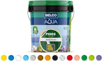 Imagen de Aqua pisos mil usos Belco 1 Lt - Ynter Industrial