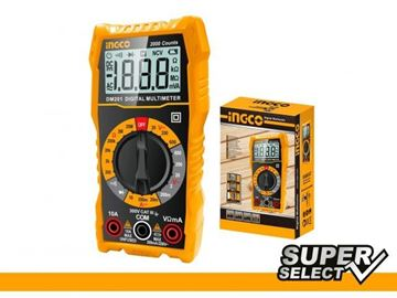 Imagen de Tester multimetro super select Ingco-Ynter Industrial