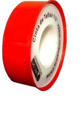 Imagen de Pack 10 rollos cinta teflón 1/2'' X 10mts-Ynter Industrial
