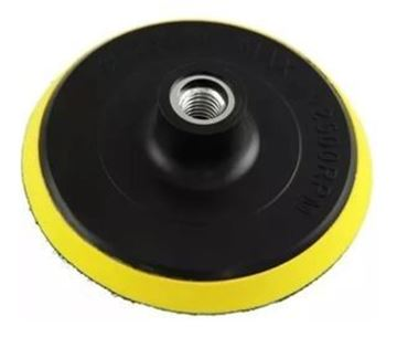 Imagen de Disco porta lija 180MM con velcro-Ynter Industrial