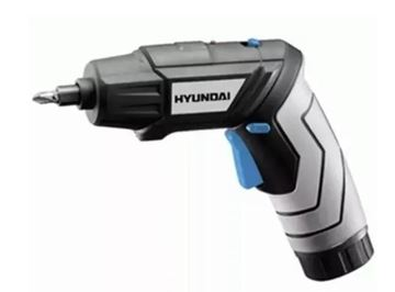 Imagen de Atornillador 3.6v  Hyundai HPSD03 180RPM 34 acc.-Ynter Industrial