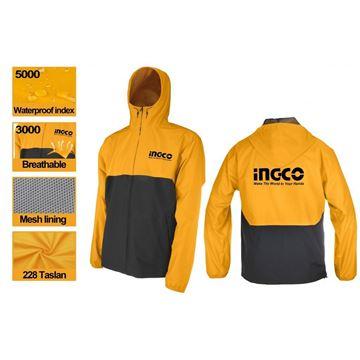 Imagen de Campera lluvia XL Ingco- Ynter Industrial
